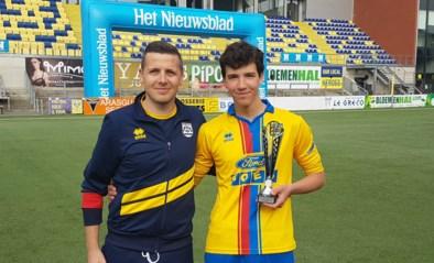 Jan Maes speler van het seizoen KVK Wellen